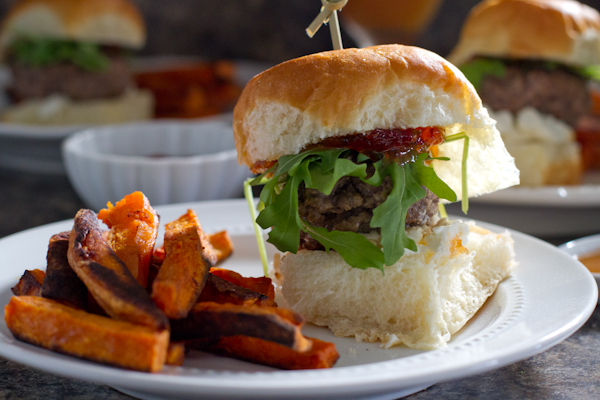 Festive Fall Sliders - poet in the pantry