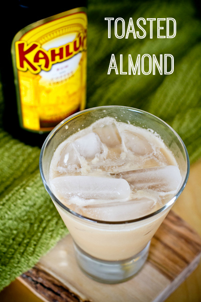 Toasted Almond cocktail - poet in the pantry
