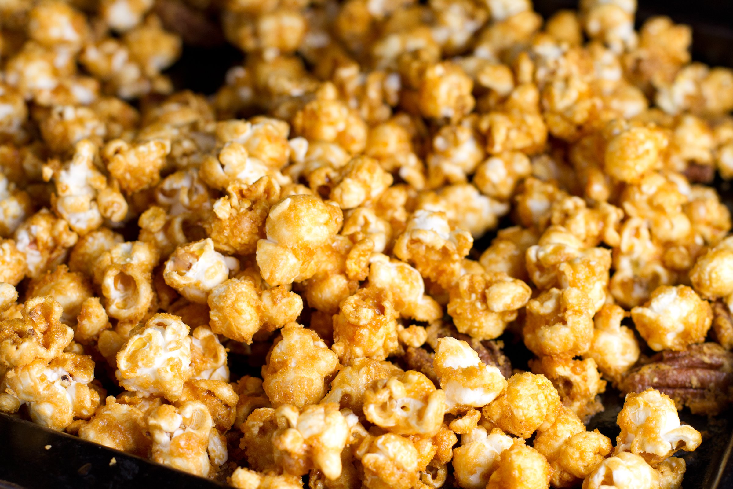 Bacon And Cashew Caramel Corn By Bon Appetit Recipe — Dishmaps
