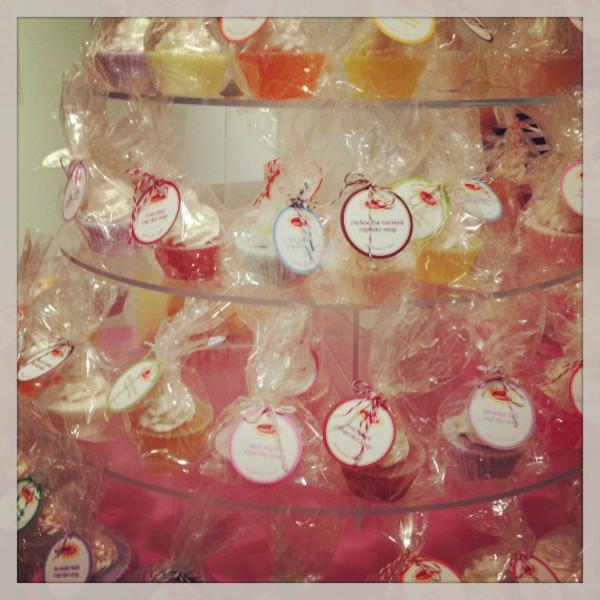 Poor & Pretty's cupcake soaps