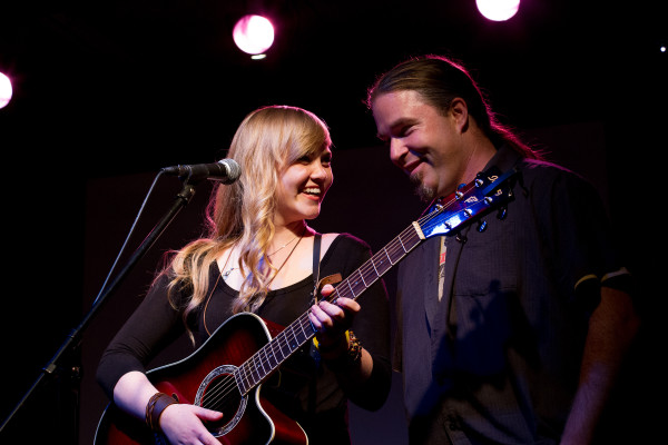 Julia Autumn Ford and Jay Roberts during a performance at The Desultory Theatre Club