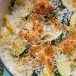 Zucchini and Summer Squash Casserole - poet in the pantry