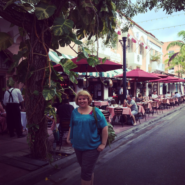 on Espanola Way