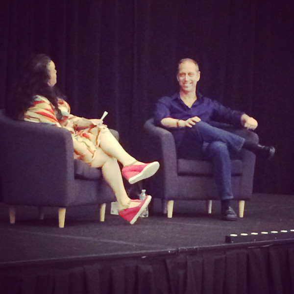 David Lebovitz speaks at BlogHer Food 2014