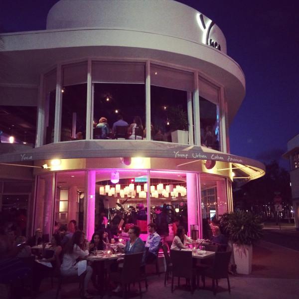 dinner at YUCA