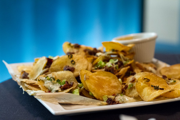 Loaded Chips Brownstone Cafe West Hartford - poet in the pantry