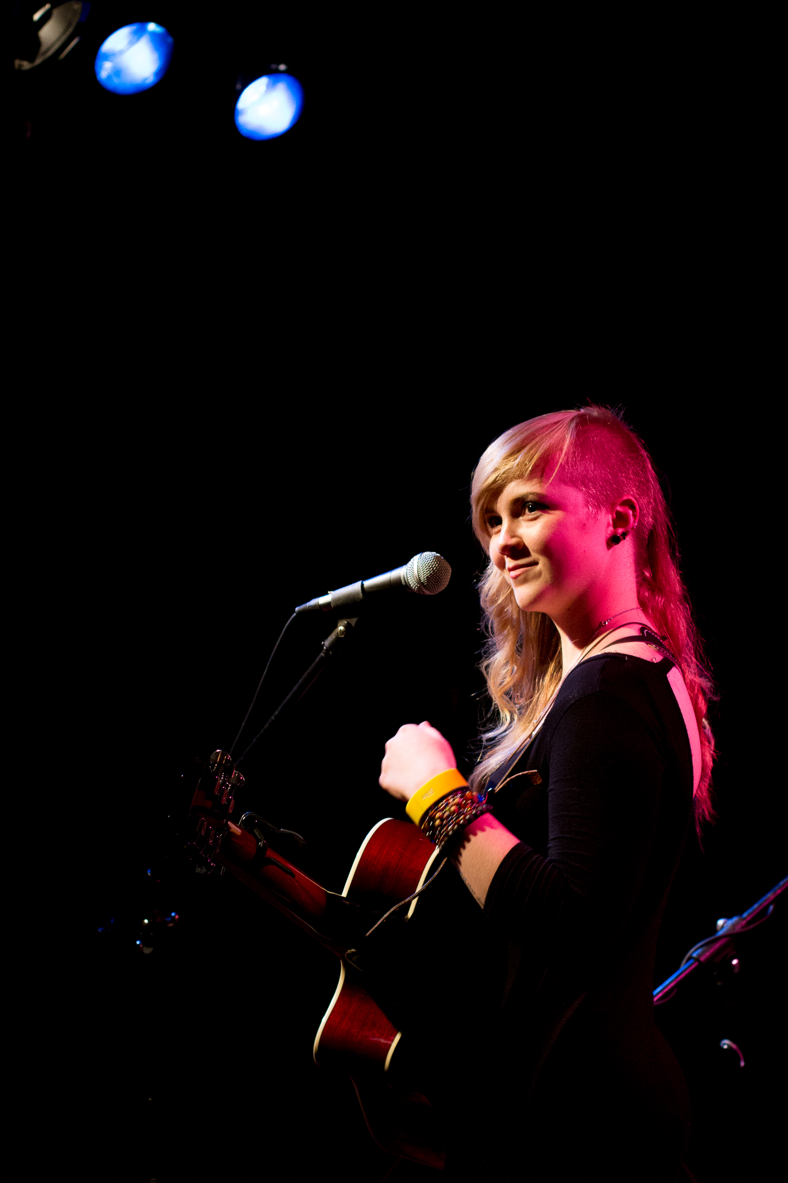 Julia Autumn Ford during a recent performance at The Desultory Theatre Club