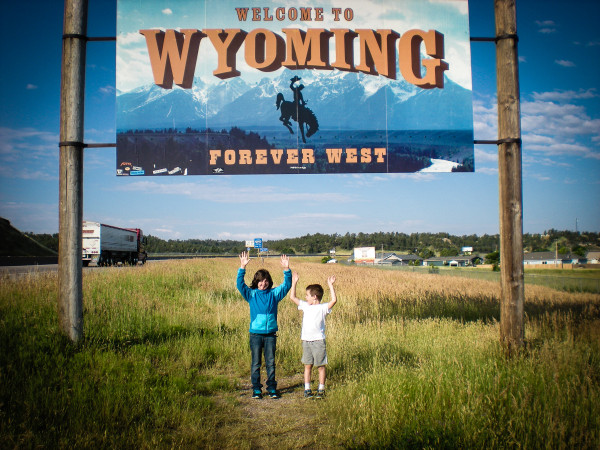 kids in Wyoming
