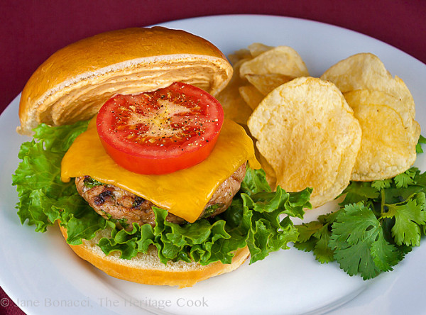 Grilled Turkey Burgers with Harissa Aioli - The Heritage Cook