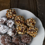 Chocolate Cinnamon Bourbon Truffles - poet in the pantry