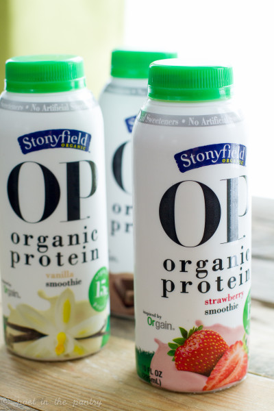 Stonyfield Organic Protein Smoothies - Poet in the Pantry