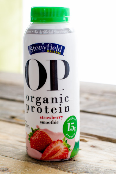 Stonyfield OP Organic Protein Smoothie - Poet in the Pantry