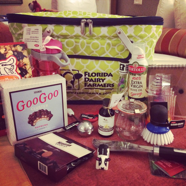 Thanks to sponsors like Sabra, KitchenAid, OXO, Florida Milk, and more, attendees of Food Blog Forum Orlando 2015 received phenomal swag bags to take home.