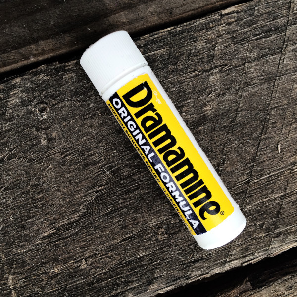 Dramamine is essential when visiting an amusement park. You don't want to be dealing with motion sickness!