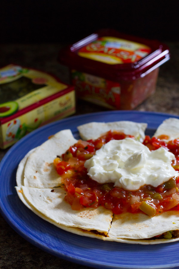 Cheeseburger Quesadilla Deluxe - Poet in the Pantry