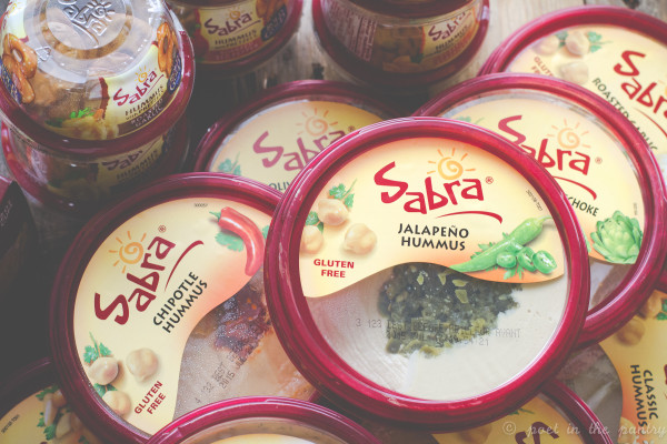 Sabra hummus for National Hummus Day!