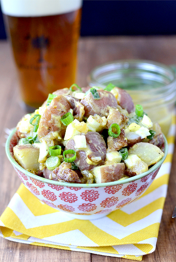 Ultimate Red Skinned Potato Salad from Iowa Girl Eats