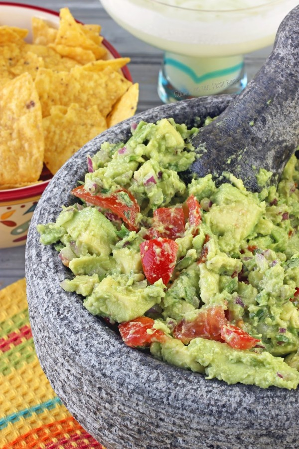 Guacamole ~ Cooking on the Front Burner