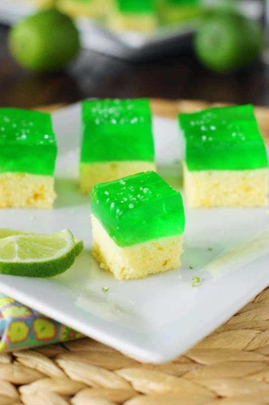 Margarita Cake -n-Jello Shots ~ The Kitchen Is My Playground