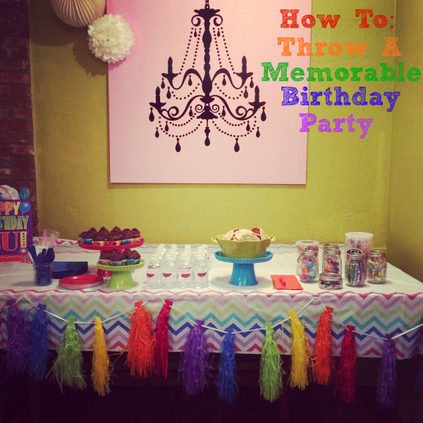 "Birthday parties don't have to be crazy, over-the-top occasions. With some smart choices, you can get a lot of mileage out of very little ""stuff"""