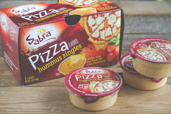 Sabra Pizza Flavored Hummus will convert even the most stubborn child into a hummus lover!