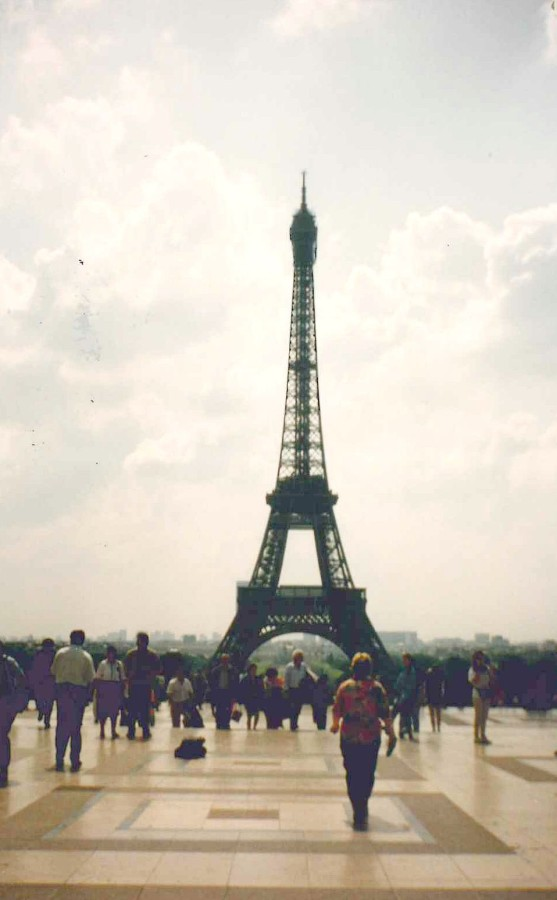 The Eiffel Tower - July 1992