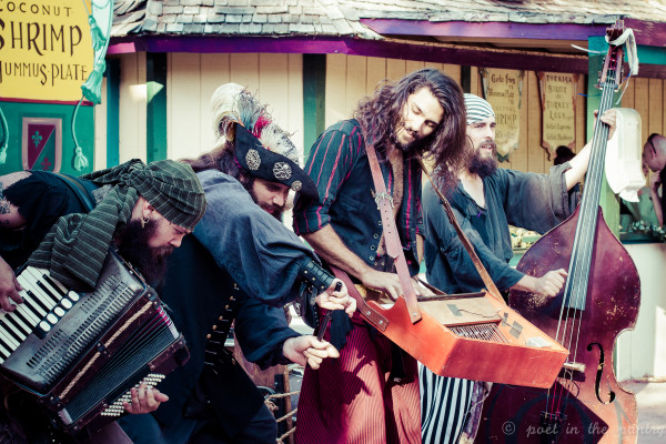 The Dread Crew of Oddwood performs at The New York Renaissance Faire