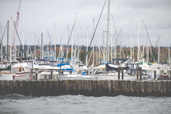 Anacortes, Washington is a beautiful place to start your sea adventure