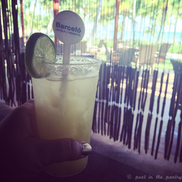 Booze is plentiful at an all-inclusive resort, like Barceló Maya Beach Resort!