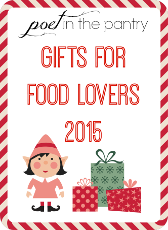 Gifts for Food Lovers 2015