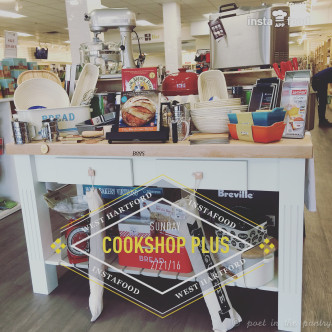 Cookshop Plus in West Hartford, Connecticut has just about everything you need to fully equip your kitchen--and make it beautiful, too! {sponsored post}