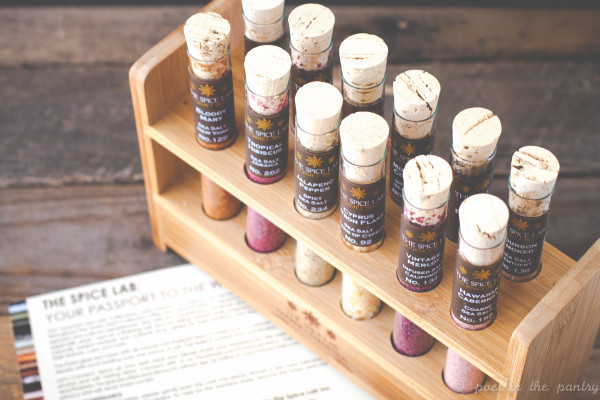 The Mixologist's Salt Collection from UncommonGoods sets you up perfectly for a variety of mixed drinks, as well as great cooking and finish salt! {this is a sponsored post}