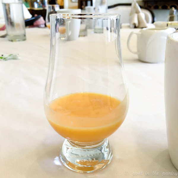 Anna at Saybrook Point Inn's Fresh Salt is quite the innovator! She let us sample her homemade orangecello, which was quite the treat! {sponsored}