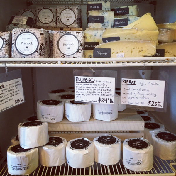 The Grey Barn in Chilmark, MA, is a great place to grab some local cheese and take in the views. {sponsored post}