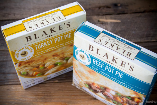 Blake's All Natural Foods' new Turkey and Beef Pot Pies give you that great homemade taste without messing up the kitchen! {sponsored post}