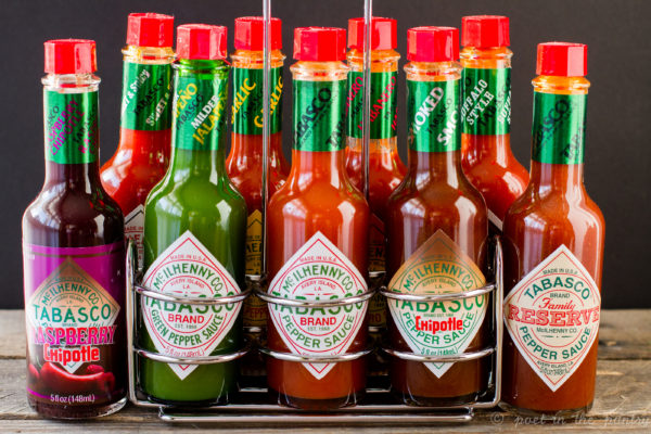 The TABASCO line of sauces - every household should have the full collection! {sponsored post}