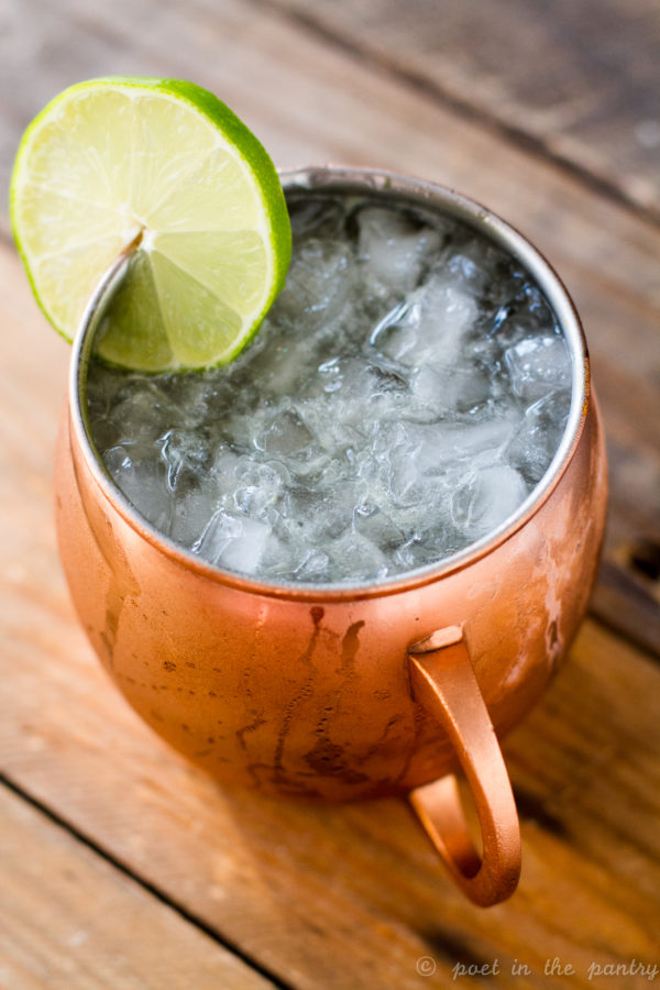 Jalapeño Mosco Mule gives a little bit more of a kick to the classic cocktail, featuring TABASCO Green Pepper Sauce {sponsored post}