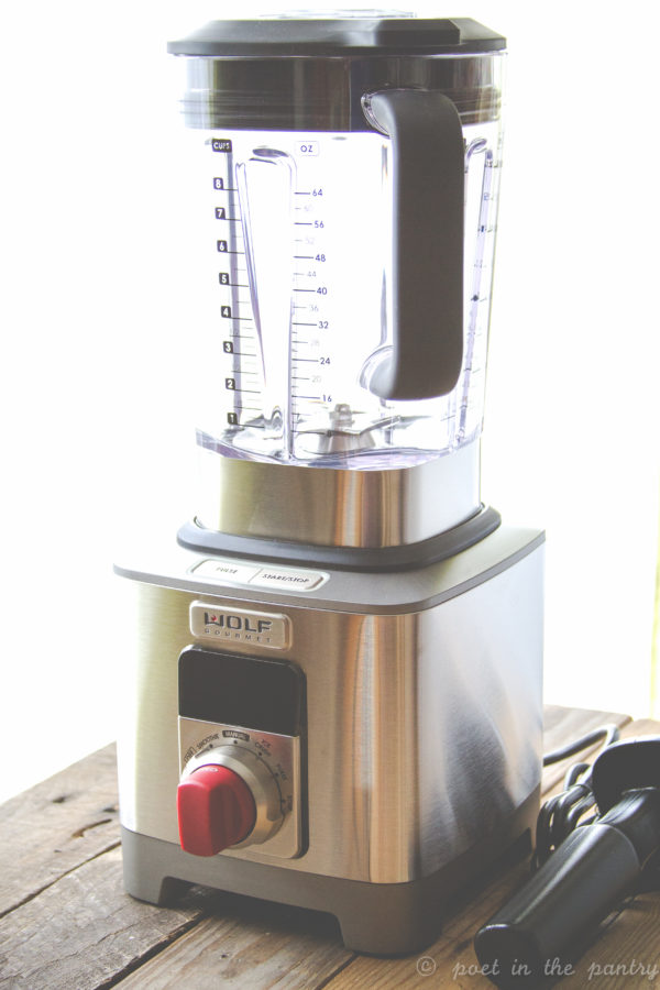 The Wolf Gourmet High Performance Blender quickly becomes an essential appliance on your kitchen counter with all that it is capable of. I'm not sure I even need a food processor anymore! {sponsored post}