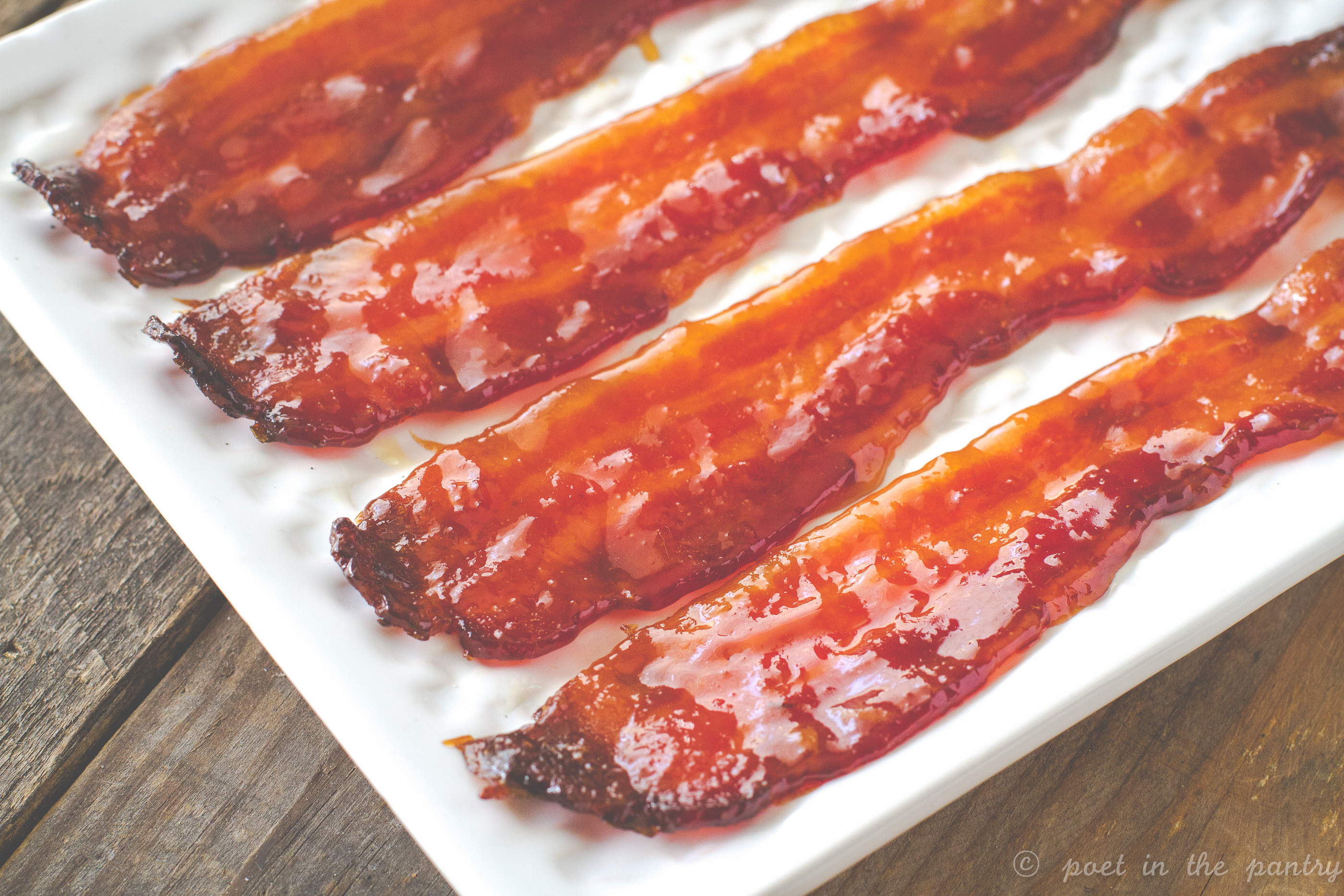 Sweet and Spicy Candied Bacon (aka Pig Candy) - Poet in ...