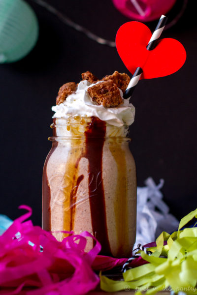 Goodie Girl Toffee Chaos Cookie Milkshakes {sponsored post}