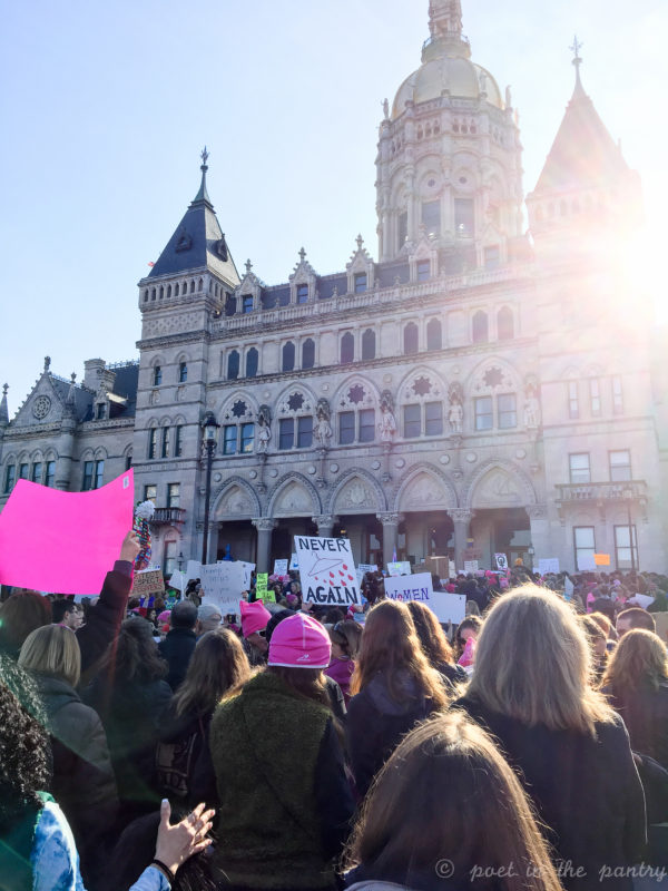 Women's March on Washington sister rally in Hartford, Connecticut