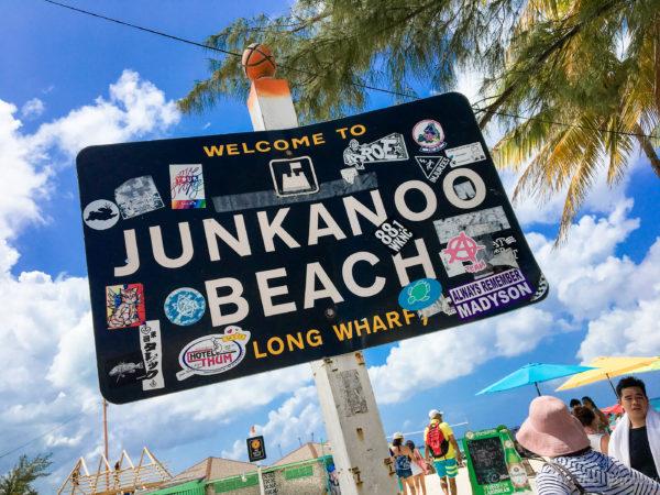 public beach, Nassau, Bahamas