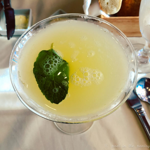 Spicy Chipotle Pineapple Martini on the Carnival Elation