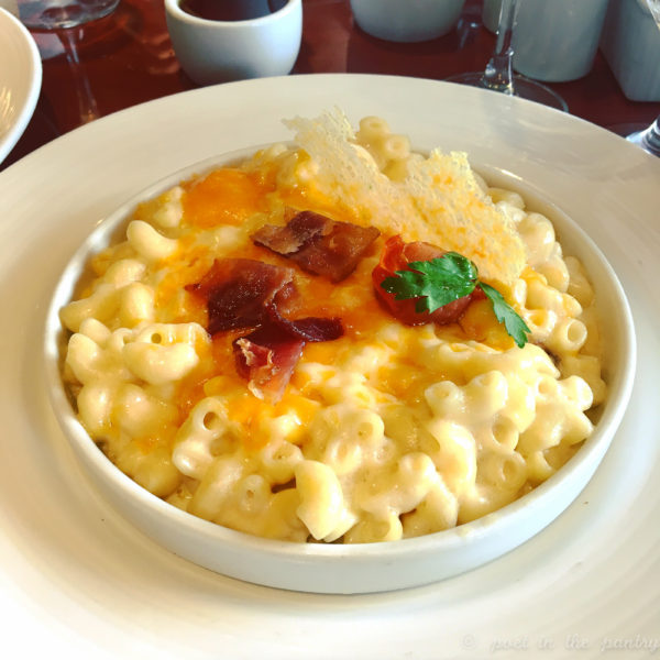 mac and cheese on Carnival Elation