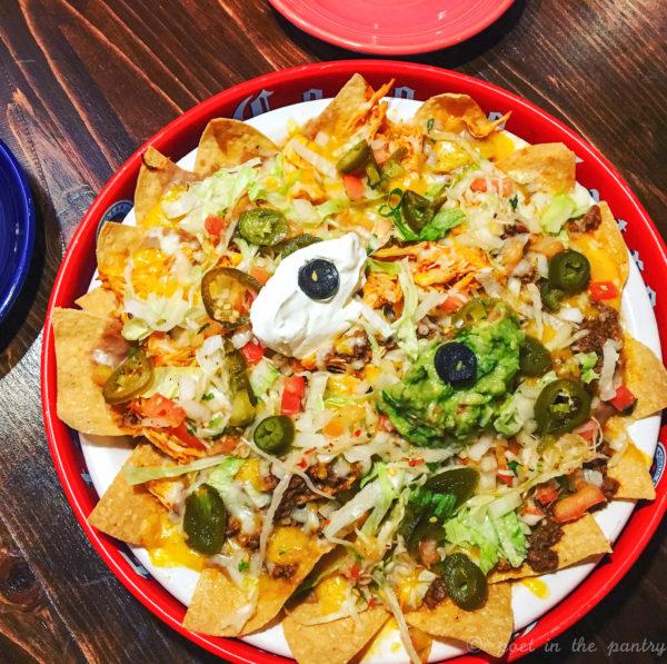 nachos at Ocho Cafe Tacos & Tequila, West Hartford, Connecticut