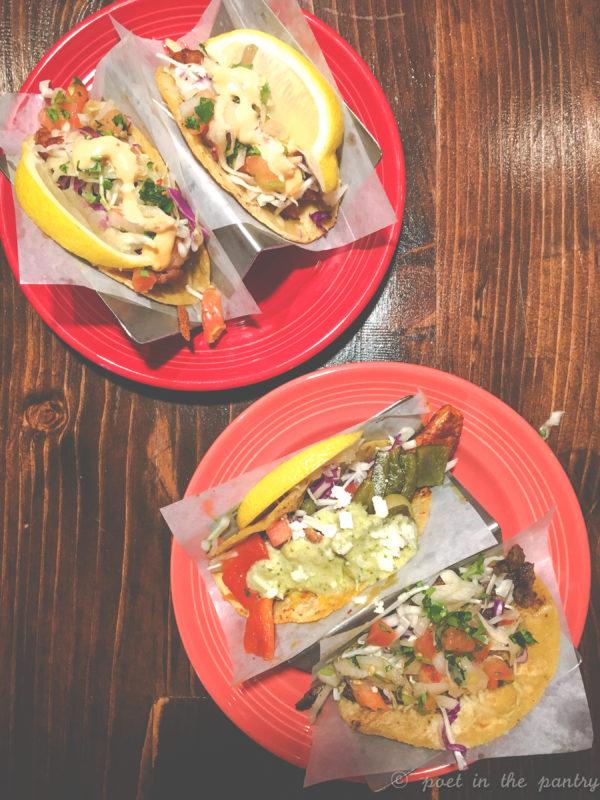 mini tacos at Ocho Cafe Tacos & Tequila, West Hartford, Connecticut