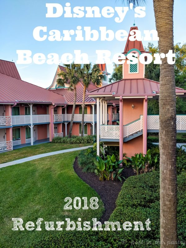 Don't let the refurbishments at Disney's Caribbean Beach Resort scare you away!