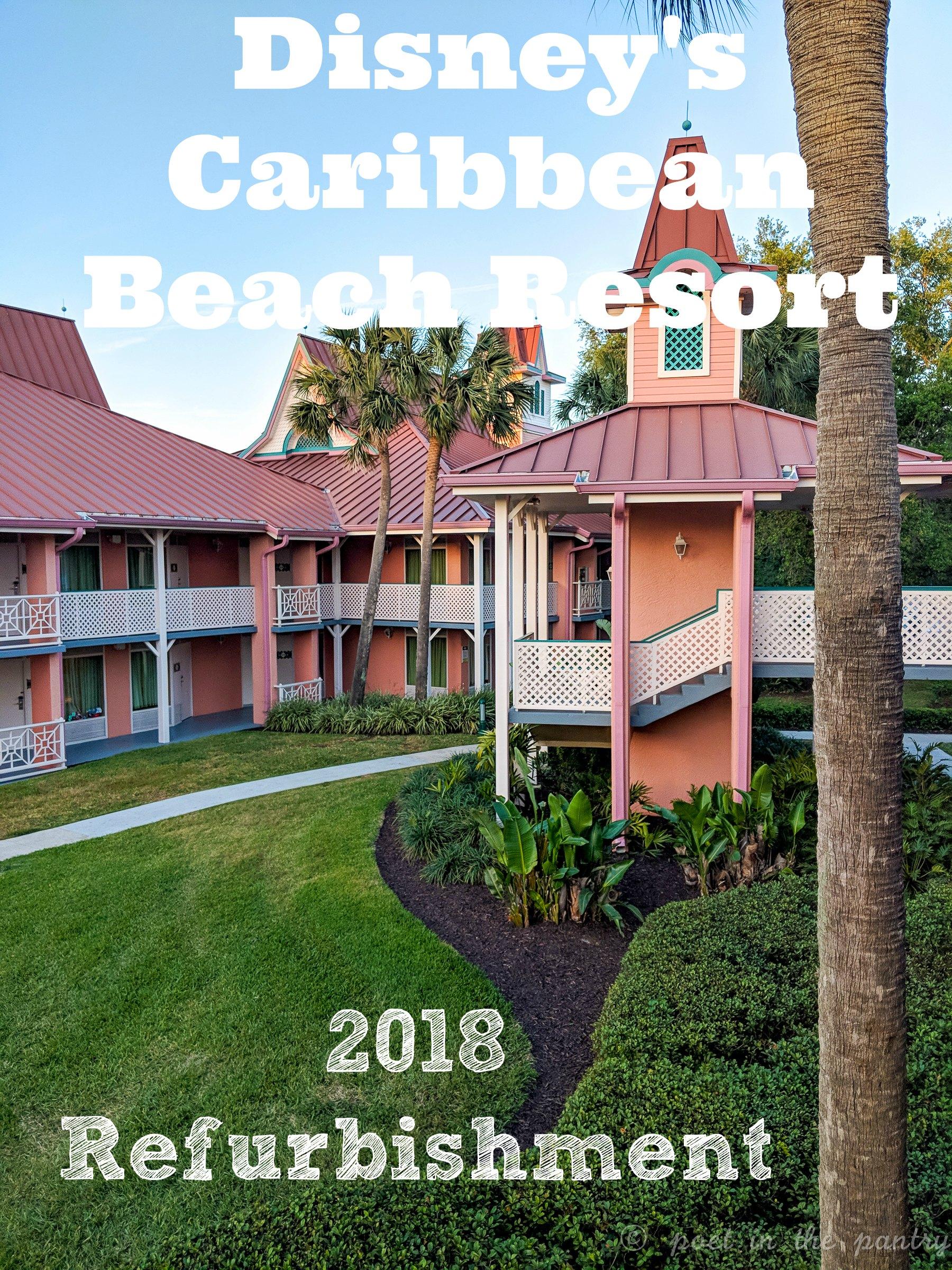 Travel Disney S Caribbean Beach Resort 2018 Poet In The Pantry