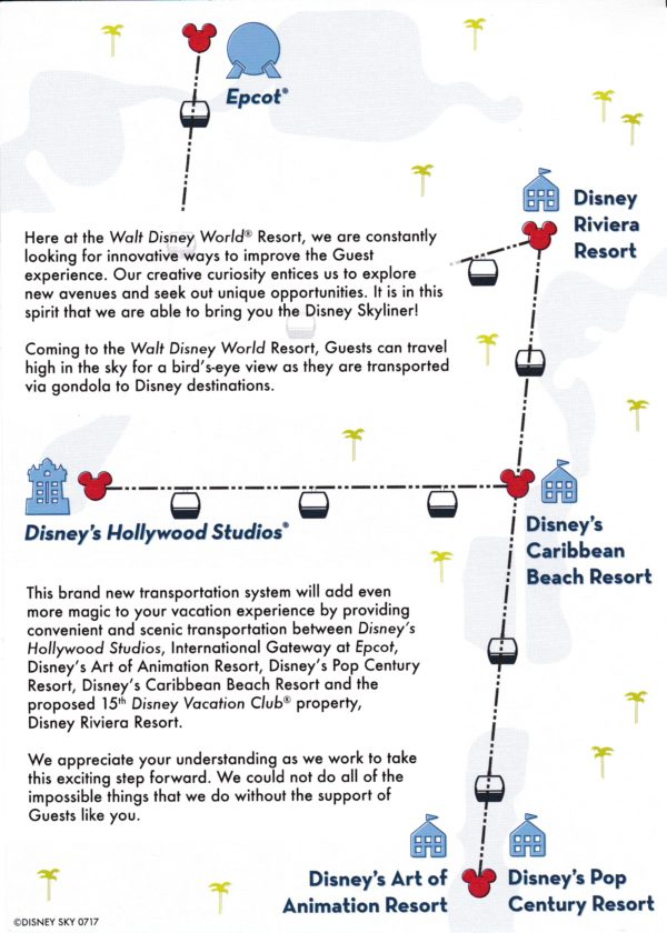 Disney Skyliner plan