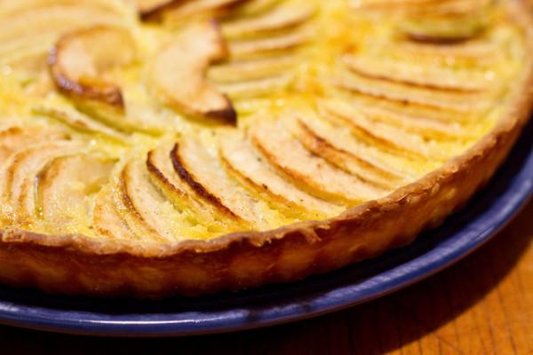 alsatian apple tart